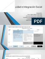 Equidad e Integración Social