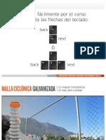Malla Ciclonica Galvanizada