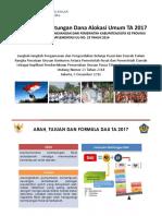 02 Kebijakan DAU 2017