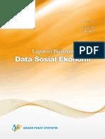 Laporan Bulanan Data Sosial Ekonomi Juli 2017 Rev