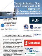 TAF GESTION ESTRATÉGICA DE LA INFORMACION