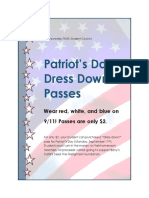 patriots day flier