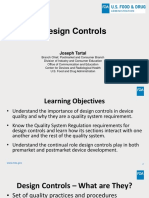 Design Controls - FDA Slides
