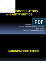 Lect-Mod-inf & immunol-immunomodulators+antipyretics-Insti-Rianto-Mar11