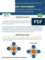 Máster - Especialización Big Data y Data Science UNED