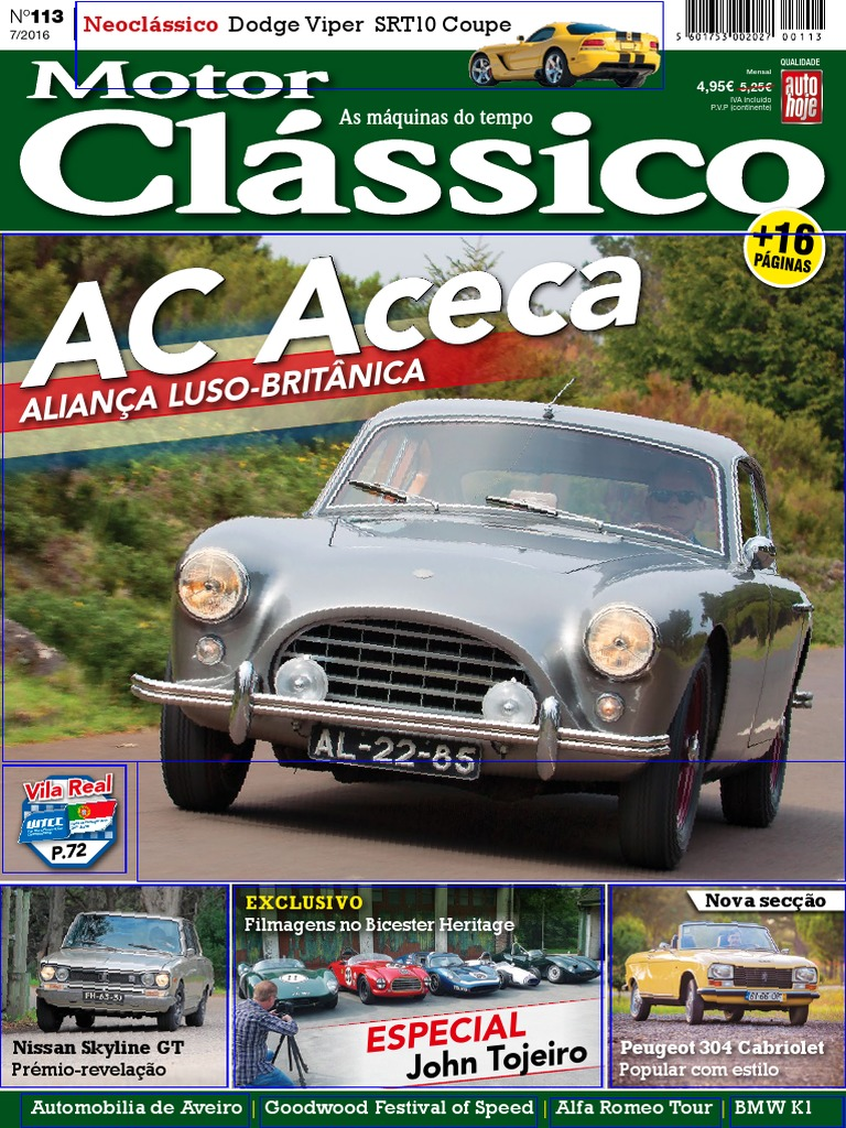 0366e717608 Motor Clássico Nº 113