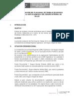 Informe de Evaluacion de Archivo 2016