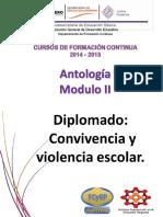 Antologia Modulo 2 Diplomado Convivencia y Violencia Escolar