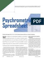 Psychrometric