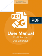 FoxitReader831 Manual