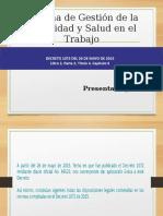 Presentacion Sg - Sst Decreto 1072 Del 26 de Mayo de 2015.PDF Gisela