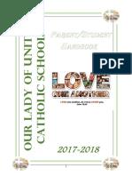 olu parent-student handbook 2017-2018