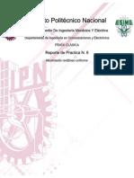 Reporte de Practica Fisica clasica ESIME  N. 6 Movimiento rectilíneo uniforme