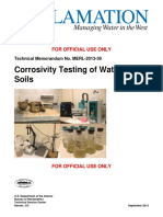 Corrosivity Testing of Waters and Soils