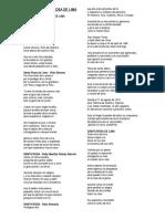 Poemas a Santa Rosa de Lima
