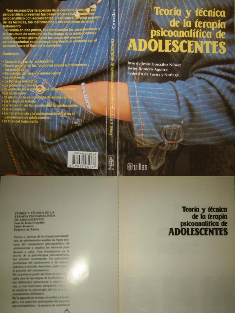 Teor A Y T Cnica De La Terapia Psicoanal Tica De Adolescentes  # Muebles Artesanales Casa Muar