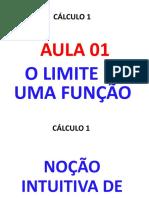 Aula01 Cálculo 1 o Limite de Uma Função 1 (1)