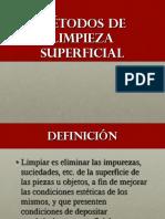3. Limpieza Superficial-Introducción