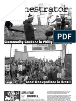 Community Gardens in Philly and Land Occupations in Brazil