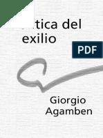 Agamben Giorgio - Política dfdel exilio.pdf