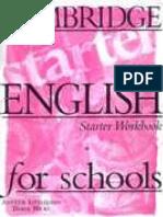 Cambridge English for Schools Starter WorkBook - JPR504.pdf