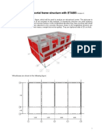 Analysis of Portal Frame Structure with ETABS.pdf