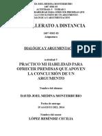 1407-0302-03_actividad 5_practico Mi Habilidad Para Ofrecer Premisas Que Apoyen La Conclusión de Un Argumento_david Medina Monterrubio_da