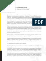 CAUSAS Y PROPÓSITOS DEL FRENTE CIUDADANO POR MÉXICO