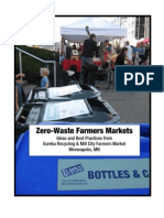 Zero-Waste Farmers Markets
