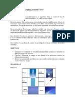 Práctica 1. Calibración de Material Volumétrico