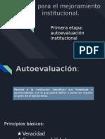 Guía Para El Mejoramiento Institucional.