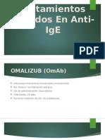 Tratamientos Basados en Anti-IgE