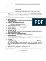Libreto de Ceremonia de Izamiento Del Pabellón Nacional 2017