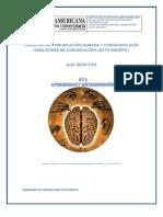Guía didáctica L-E I unidad 1 APRENDIZAJE Y METCOGNICION