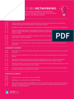 Checklist - Potencializando o Networking No Seu Evento