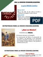 Estrategias Para La Mision Evangelizadora