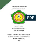 Cover Laporan Tumbang