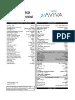 Phenom 100 Checklist