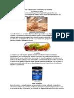 Productos y Vitaminas Que Pueden Tomar Un Deportista