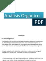 Análisis Orgánico B