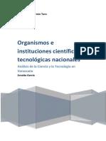 E8_Organismos e Instituciones Científicas y Tecnológicas Nacionales