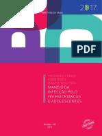 Protocolo Clínico e Diretrizes Terapêuticas Do Manejo Da Infecção Pelo HIV Em Crianças e Adolescentes - 2017