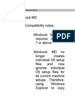 Detailed Changes for Windrock MD 4