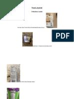 food journal- pap biology- lauren peck