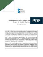 Tesis La Transferibilidad de Los Valores Cooperativos. Barcelona. 2014. PDF