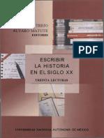 Escribir La Historia en El Siglo XX MB
