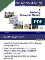 Analyzing Consumer Market-Kotler