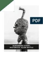 Nuremberg Event Historical Alien Battle