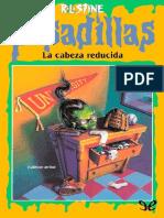 28 - La Cabeza Reducida - R. L. Stine