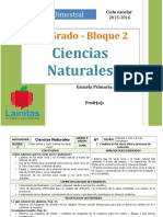 Plan 6to Grado - Bloque 2 Ciencias Naturales.doc